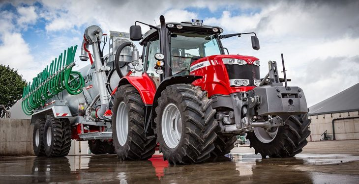 Massey Ferguson unveils the world's first 200hp, four-cylinder tractor