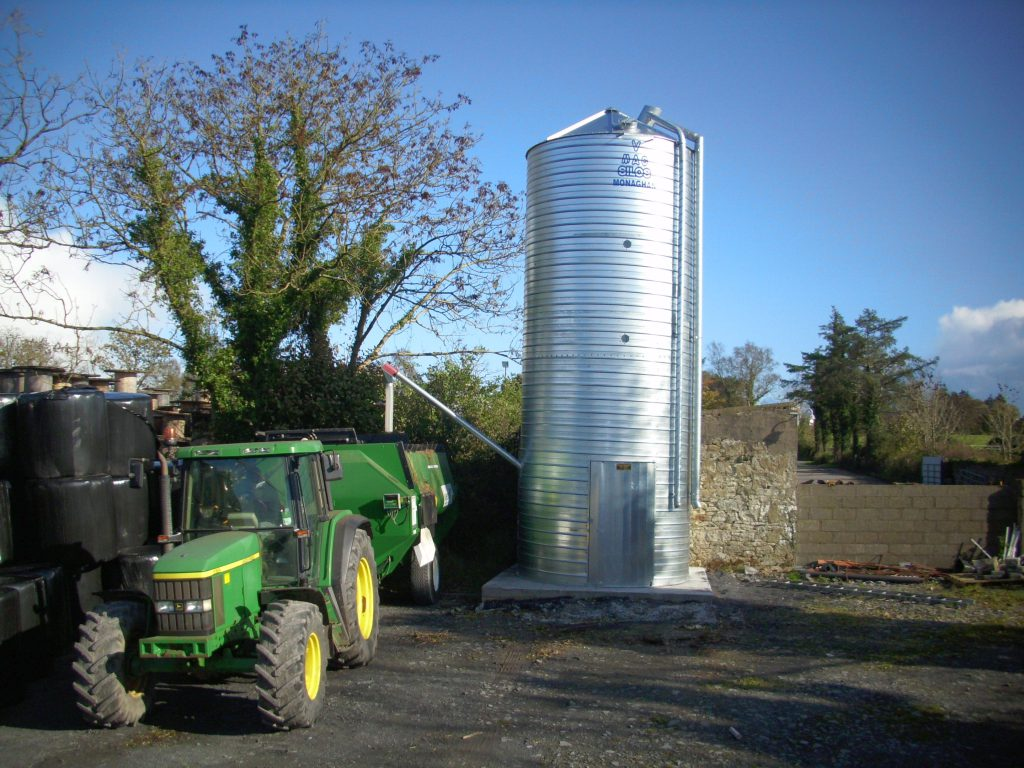 silo, feed, meal,