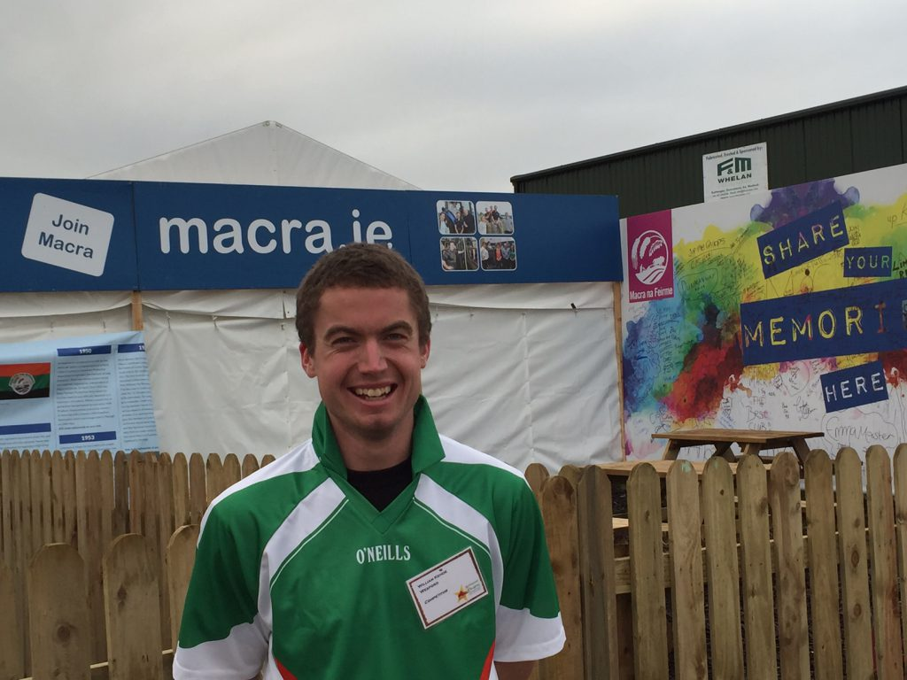 Wexford man William Kehoe took top spot in the Macra Two Furrow Ploughing Competition
