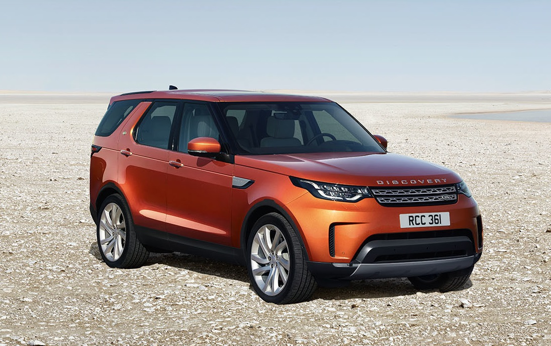land rover release first pictures of all new discovery agriland. Black Bedroom Furniture Sets. Home Design Ideas