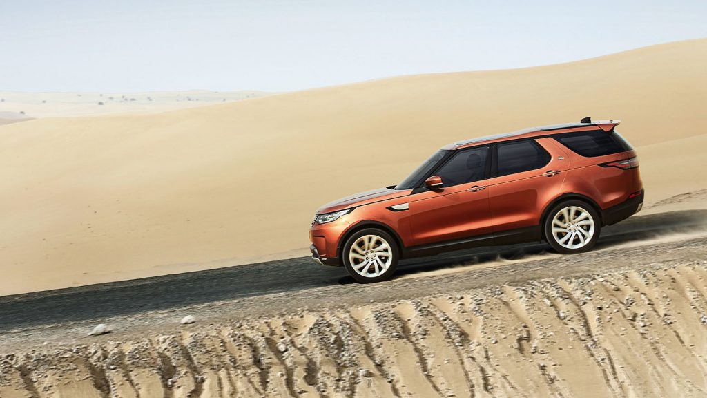 The new 2016 land rover discovery