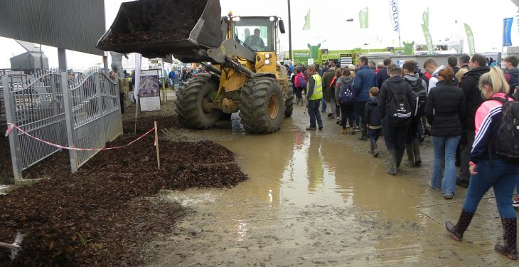 Rain on the way for the final day of Ploughing 2016