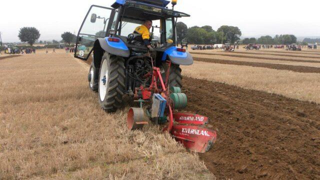 Ploughing is a unique art form