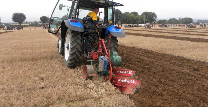 Ploughing is a unique art form