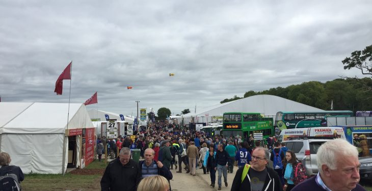 Pics: Clouds and plenty of muck at Day One of Ploughing 2016