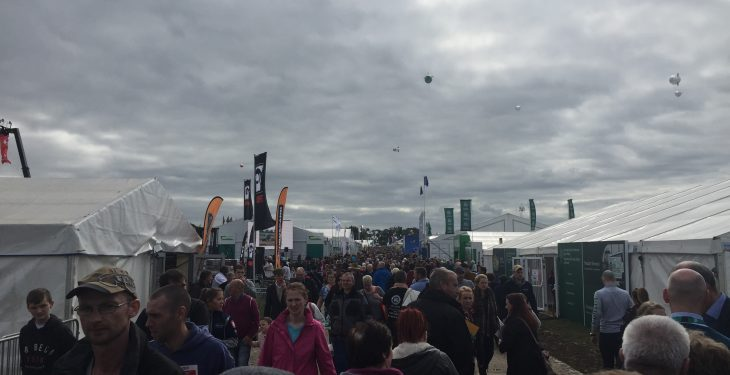 Risk of heavy rain for Day Two of the Ploughing – Met Eireann