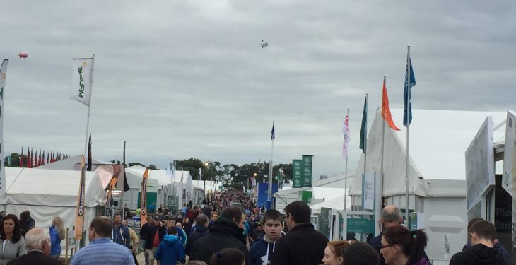 Record-breaking numbers attend Day One of Ploughing 2016