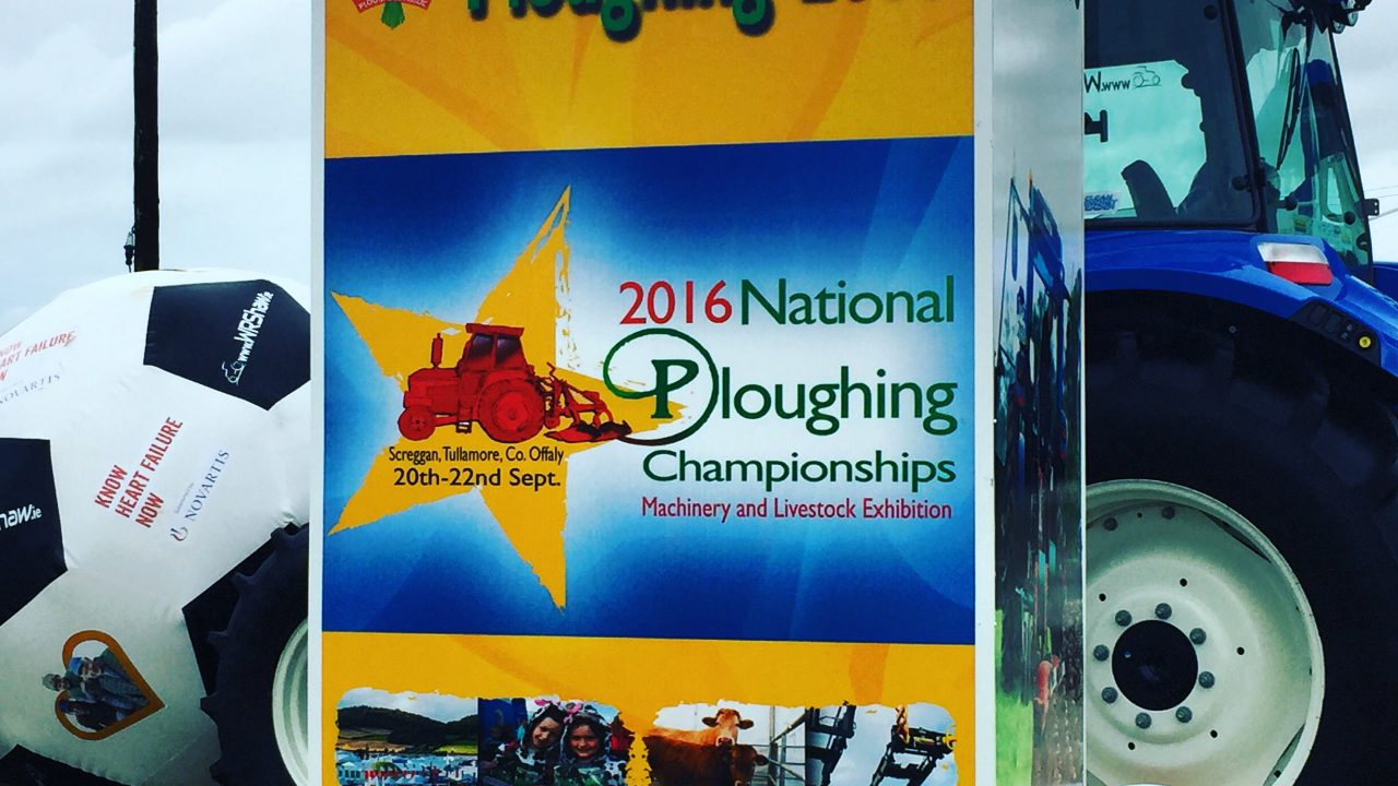 Pics: See how preparations are going for this year's Ploughing Championships