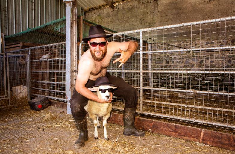 Pics: The topless Irish Farmer Calendar is going global