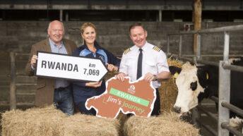 All-Ireland winning manager leads Bothar animal airlift to Rwanda