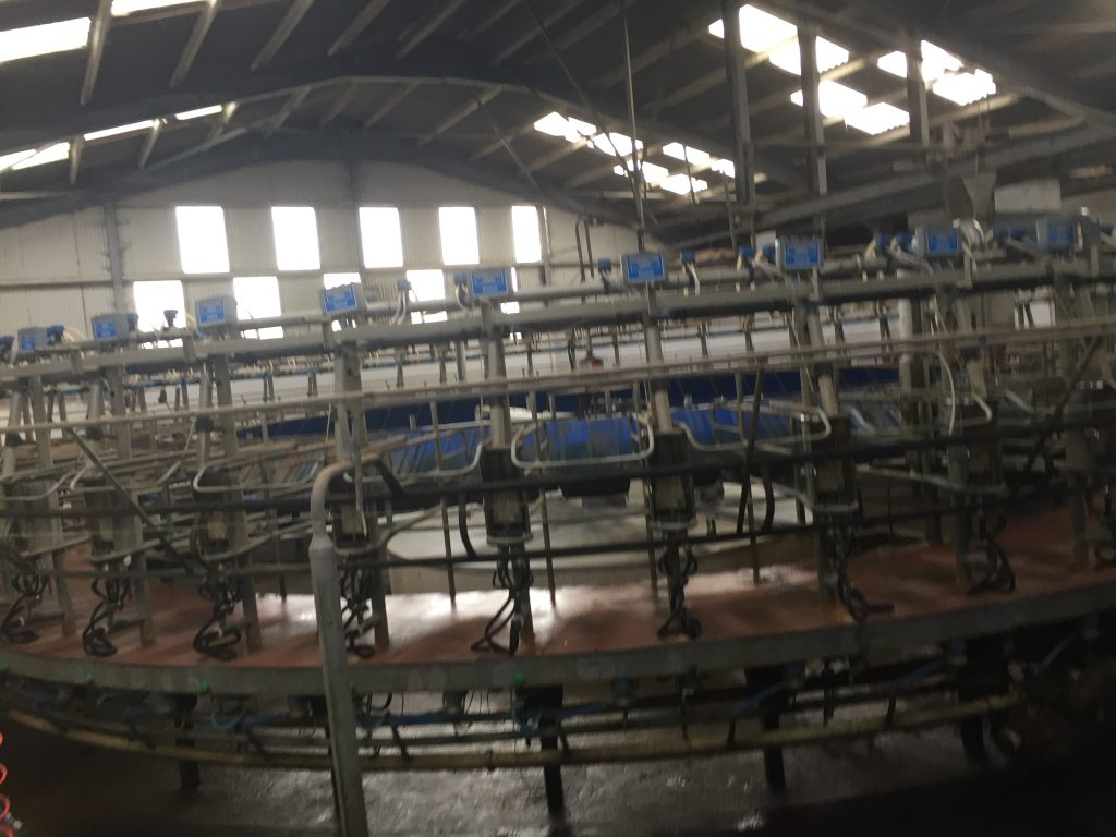 The 50 unit rotary parlour