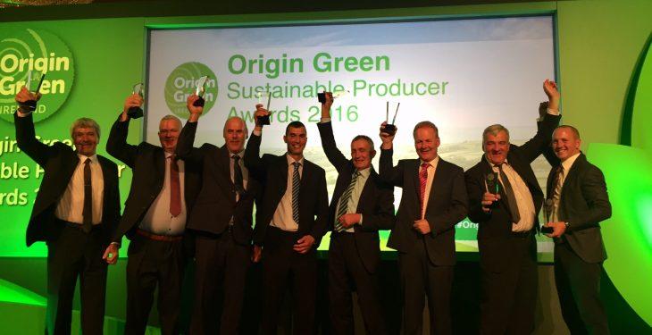 Eight family farms take home Origin Green Producer Awards