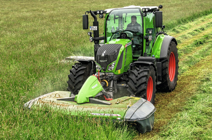 fendt, mower