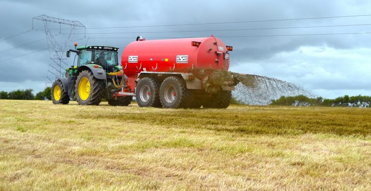 Slurry spreading set to be further delayed by widespread showers