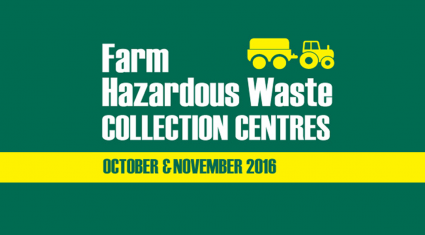 Will your waste will be accepted at Farm Hazardous Waste Collection centres?