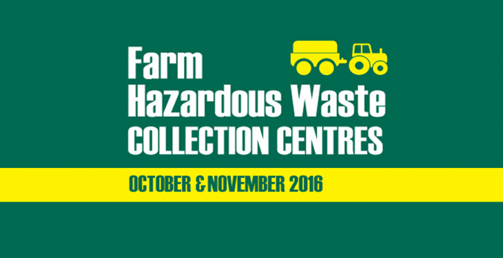 Farm Hazardous Waste Collection Centres set for another busy year