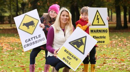 10 safety tips to ensure children stay safe on your farm this winter