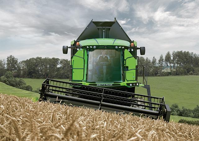 C9000 range of combine harvesters Source: Deutz-Fahr