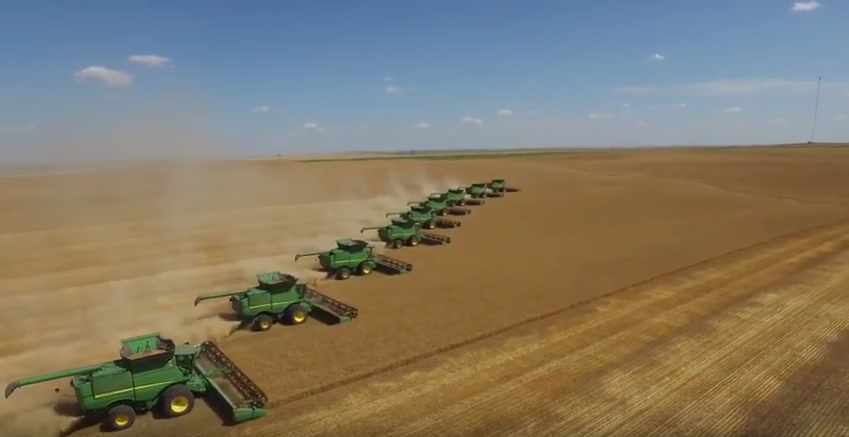 Video: Ear to the Ground meets a harvest team covering 2,000 miles in the US