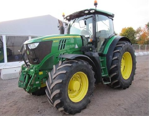John Deere 6210R sold for
