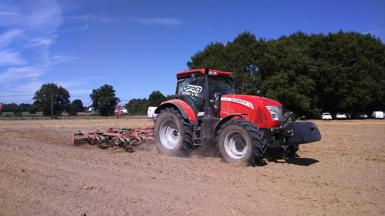 Pics: New 160 horsepower McCormick tractor now available in Ireland
