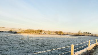 Temperatures to nosedive to -4° as frosty weekend beckons