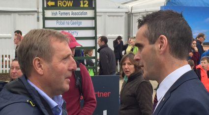 Minister Creed called on to step up to the mark for grain growers