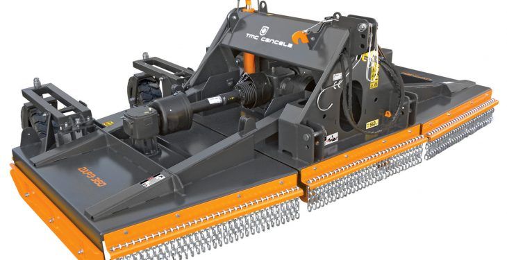 Spaldings adds new rotary cutters to its range of equipment
