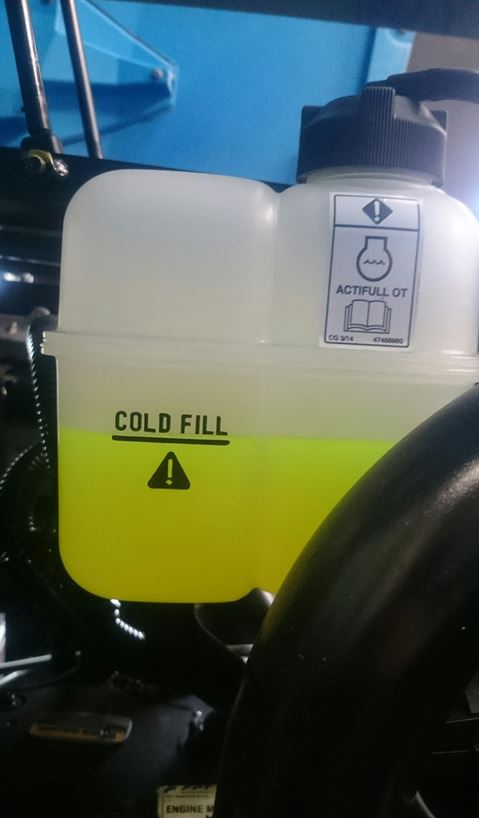 Some systems use a coolant which cannot be mixed with any other liquid