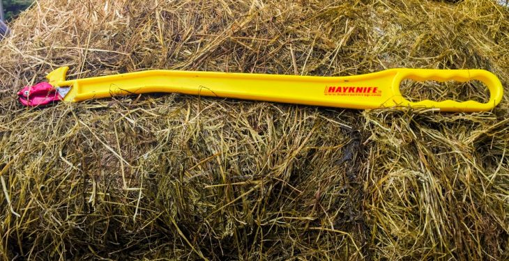 Video: Taking the hardship out of silage bales – New Hayknife hits Irish market