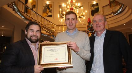 Tillage Specialist with Glanbia wins top UCD student award