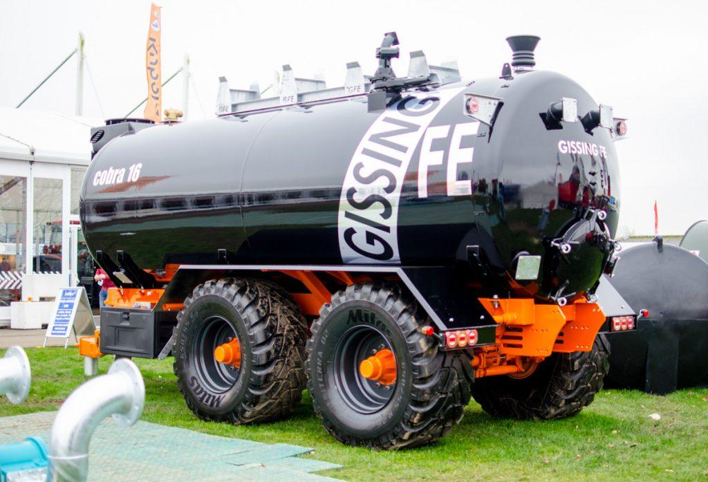 Gissing FE Cobra slurry (vacuum) tanker