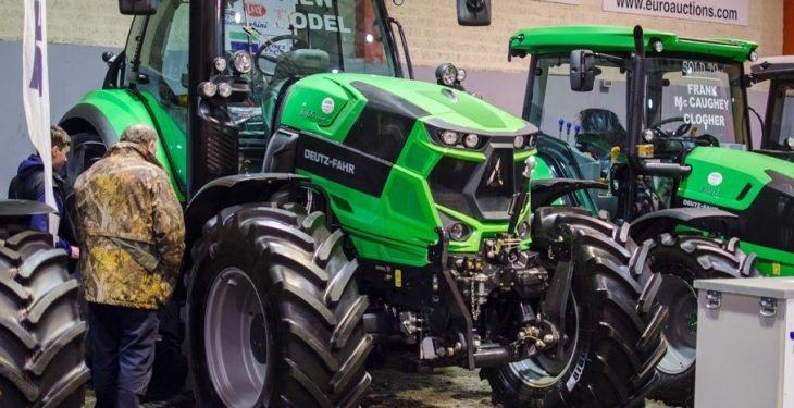 July jump: New tractor registrations rose by 8% last month