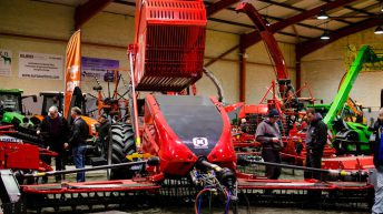Stonebear rock picker catches the eye at Fintona show