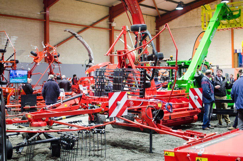 Fintona farm machinery show machinery