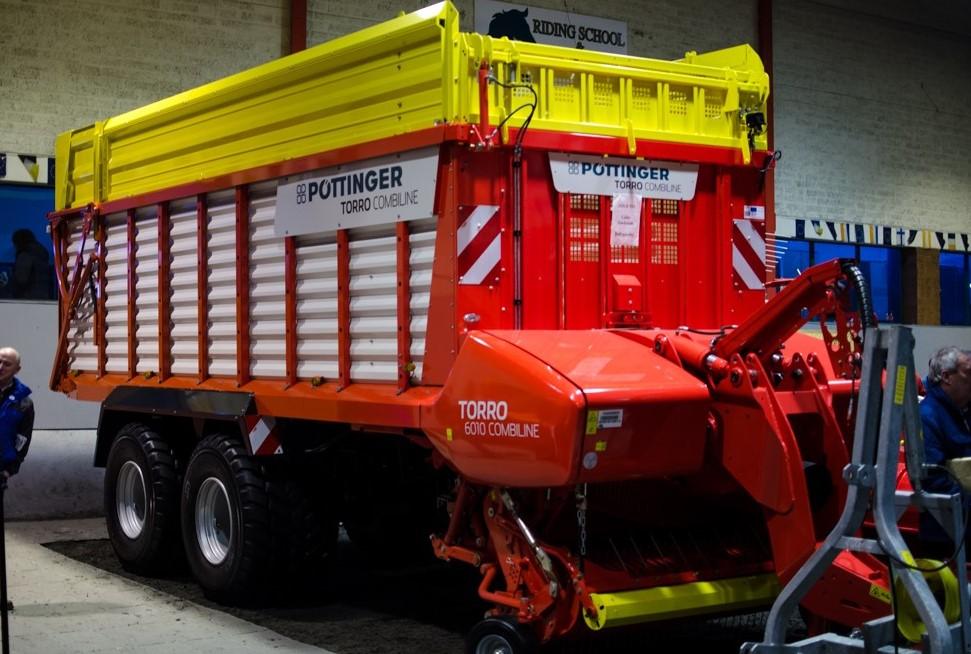 Fintona farm machinery show silage wagon