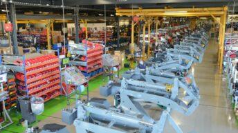 Loader manufacturer set for factory expansion