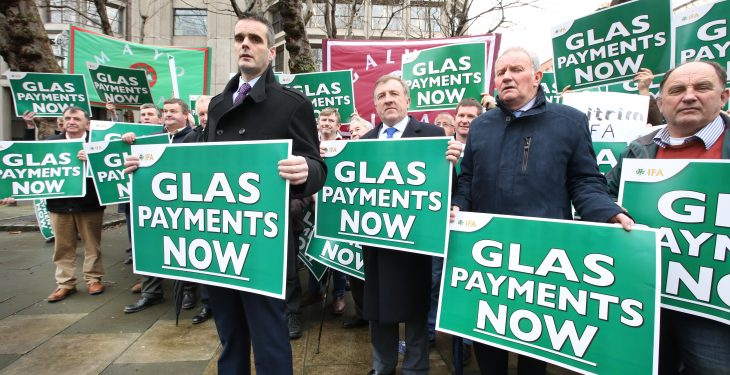 Pics: IFA protests over delay in GLAS payments
