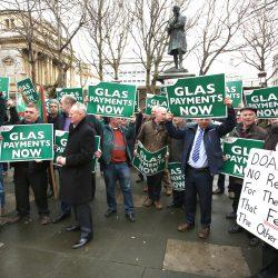 GLAS, IFA, protest