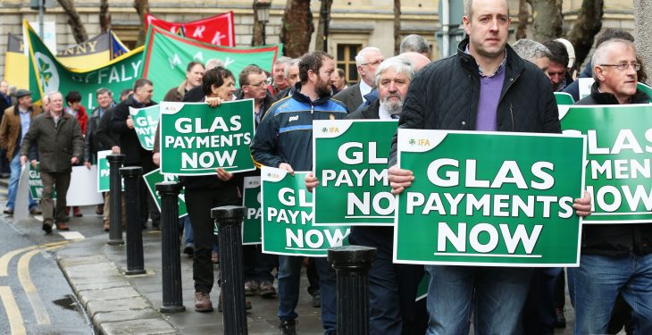 'A significant acceleration of GLAS payments is needed'