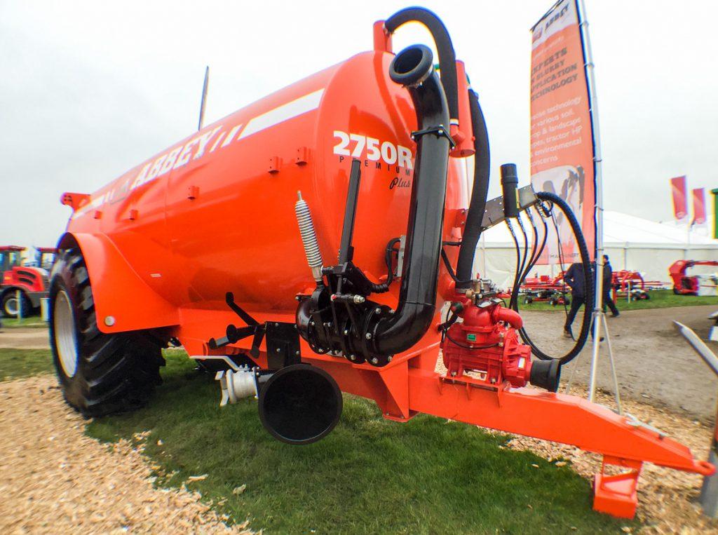 Abbey 2750R slurry tanker