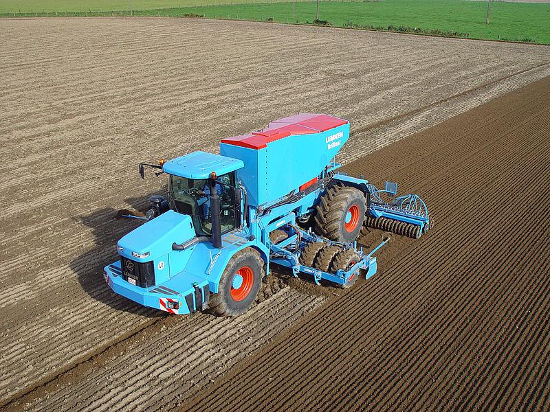 Lemken Brillant self-propelled power harrow drill combination