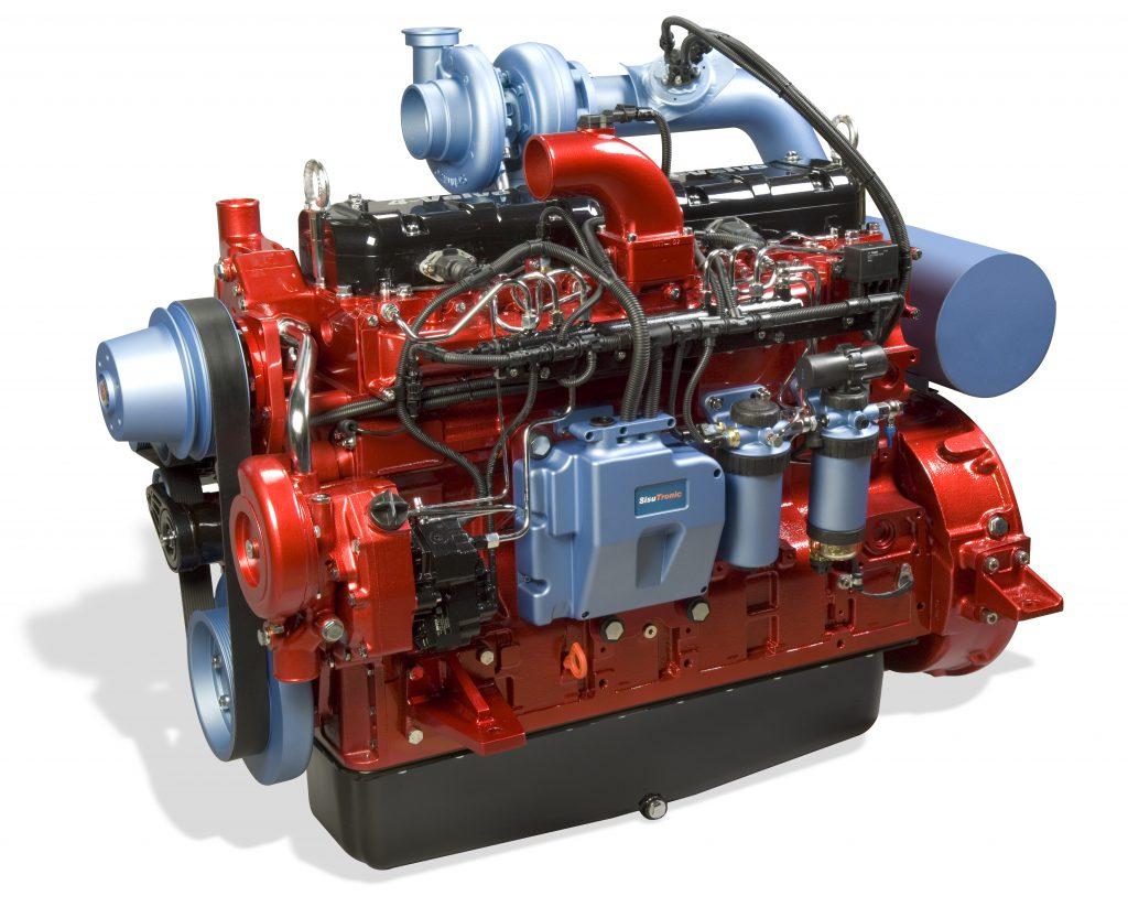 Valtra Citius SCR9 tractor engine