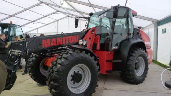 Manitou unveils new articulated-steer telehandler as part of its agri-range