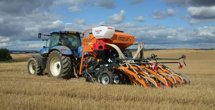Video: This strip-till drill goes straight into stubble