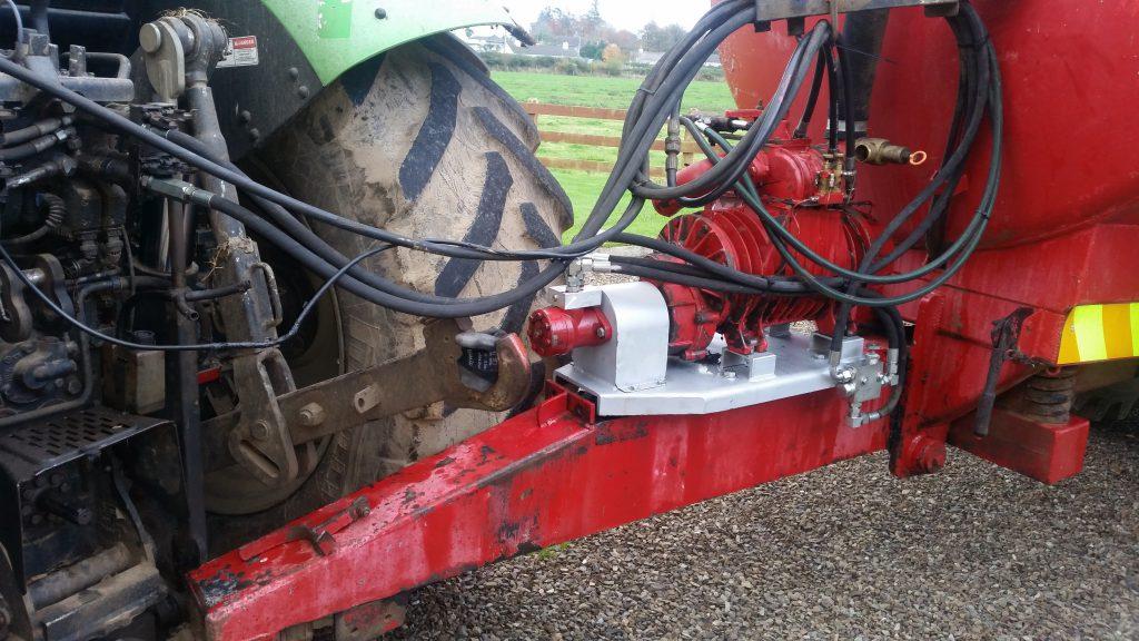 The new hydraulic SafeShaft system.