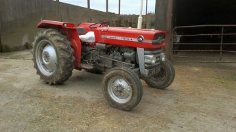 Vintage tractor of 'huge sentimental value' stolen in the North