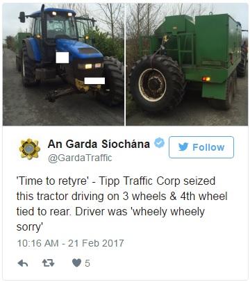3 wheel tractor