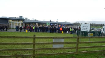 Pics: Farm groups protest against possible Regional Veterinary Labs closures