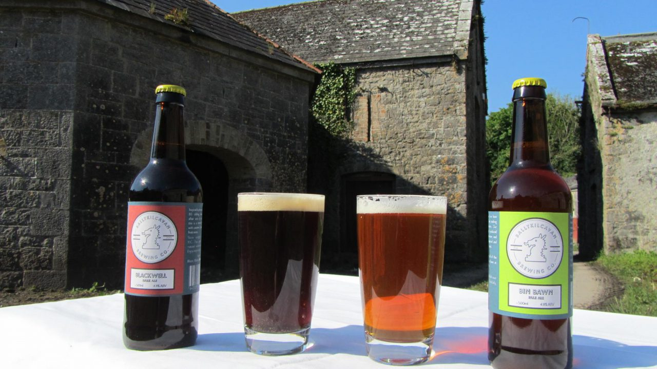 Stradbally farmer launches Ballykilcavan beer brand